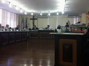 Pleno do TJRN foi favorável à manutenção do afastamento de Micarla de Sousa da Prefeitura de Natal (Foto: Rafael Barbosa/G1)