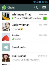 Novo WhatsApp atualizou sistema de privacidade do app Foto: WhatsApp / Divulgação