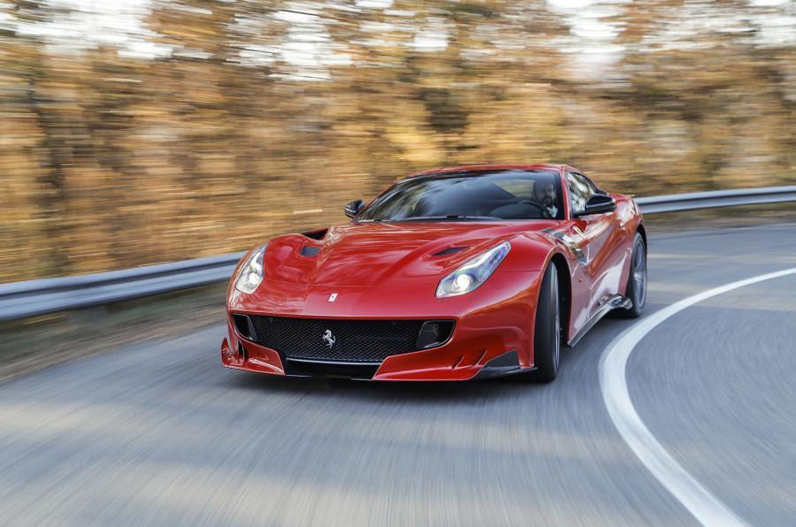 Ferrari F12tdf Review (2017)   Autocar
