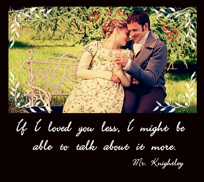 Emma & Mr. Knightley