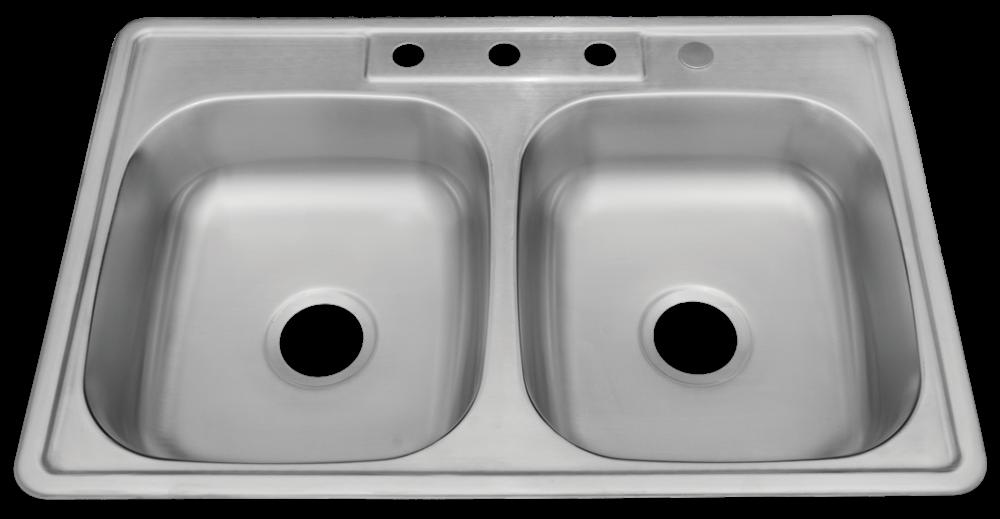 Ada Compliant 22 Gauge Stainless Steel 4 Hole Drop In Sink 5050