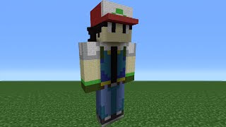 Minecraft Tutorial: How To Make An Ash Statue