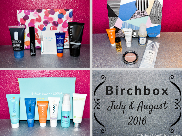 Birchbox - July and August 2016