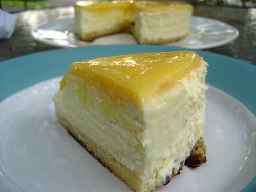 (Baby) Lemon Cheesecake