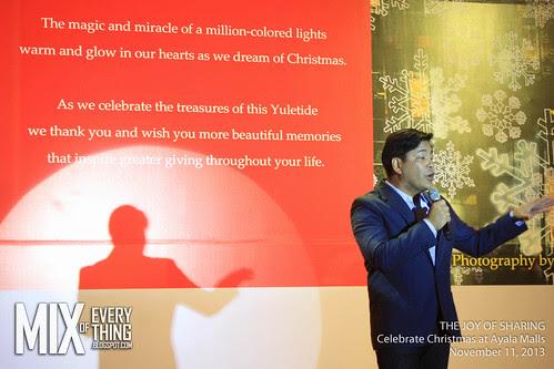 The Joy of Sharing  - Ayala Christmas 2013