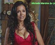 Michelle Martins super sensual na novela Fina Estampa