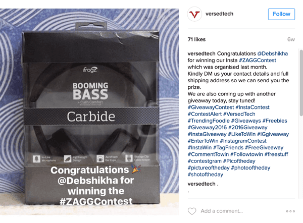 How To Pick A Winner In Instagram Giveaways And Contests   Hack