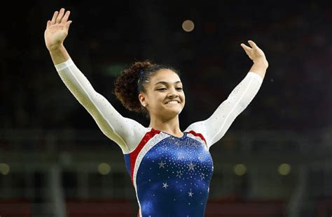 close  olympic gold medalist laurie hernandez