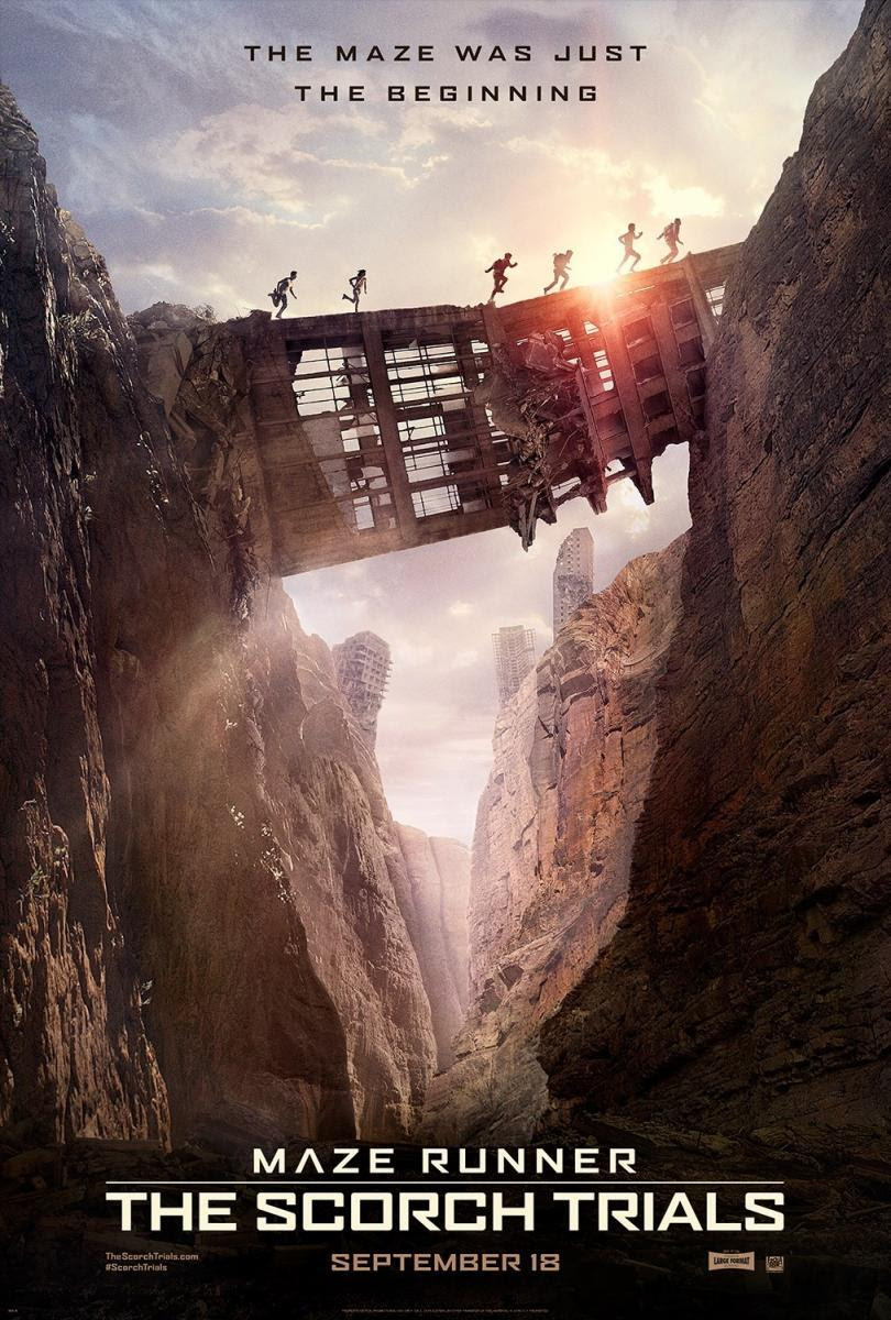 blog de cine, solo yo, blog solo yo, El corredor del laberito: Las pruebas. Maze Runner: The Scorch Trials, película,