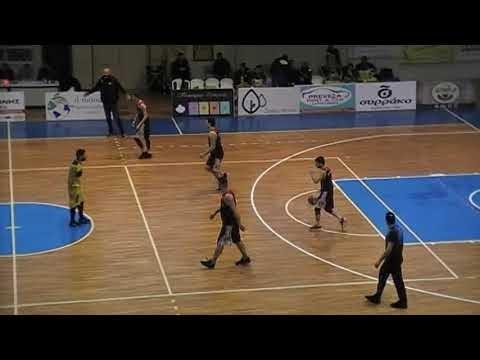 Στιγμιότυπα από τον αγώνα Νικόπολη Πρέβεζας-Ζέφυρος για την Γ΄ Εθνική ανδρών