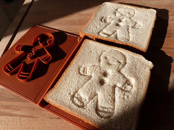 gingerbread toasts