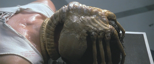 "The ""facehugger"" was the first creat..."