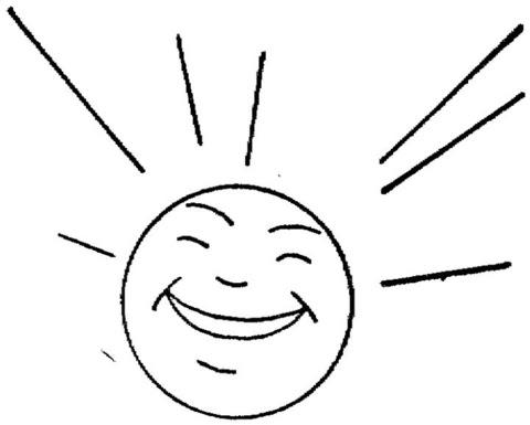 Disegno Di Sole Felice Da Colorare Disegni Da Colorare E Stampare