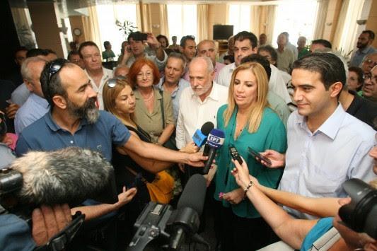 Εκλογές 2015: Δεν έδωσαν ψηφοδέλτιο του ΠΑΣΟΚ στη Φώφη Γεννηματά