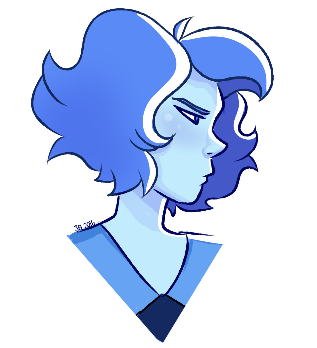 haven't drawn Lapis in a while so here we go