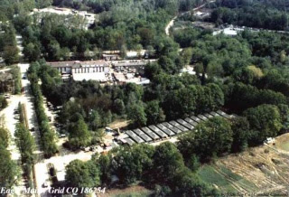 base US d'occupation en Bosnie a Tuzla, Camp Eagle