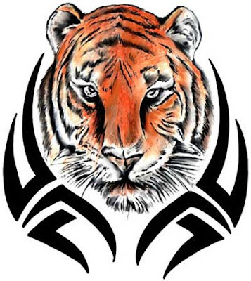 Tattoos Designs Black And White. Tiger Tattoo - Rochester A