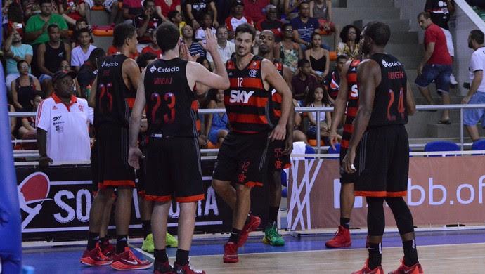 Vitória x Flamengo - NBB basquete (Foto: Francisco Galvão/EC Vitória)