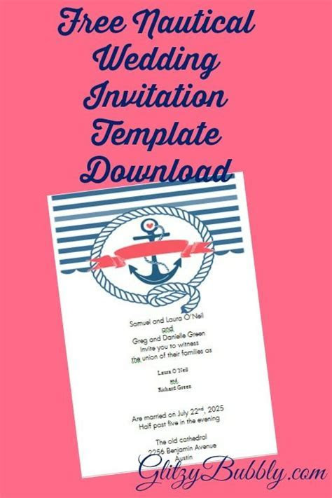 Download and create your own diy free editable nautical
