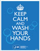 A thumbnail image of the Keep Calm and Wash Your Hands poster