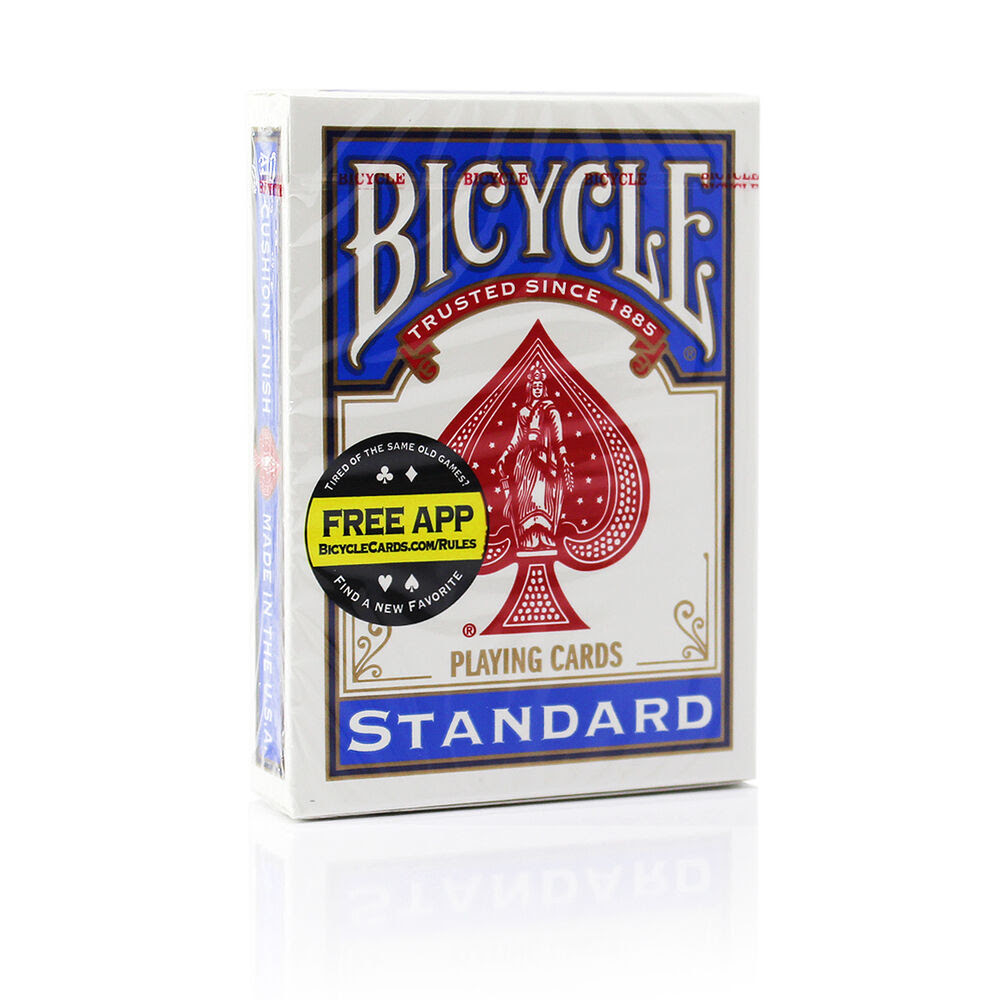 Bicycle Standard Playing Cards Blue   eBay