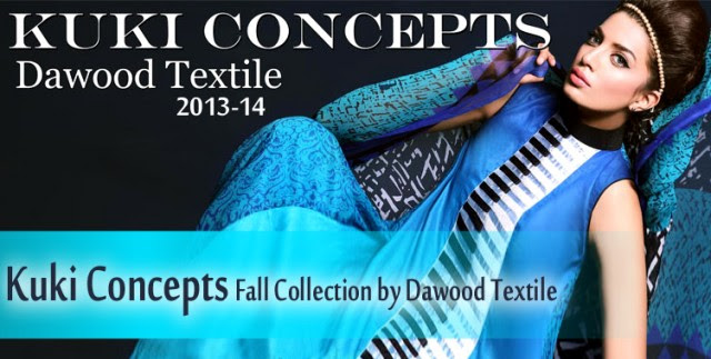 Dawood-Textile-Girls-Women-Printed-Lawn-Prints-Fashion-Suits-Kuki-Concepts-Fall-Winter-Collection 2013-14-
