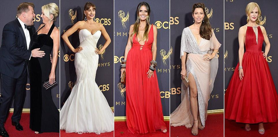 Emmys 2017 começa com tapete vermelho em Los Angeles