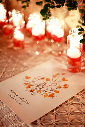 finger print wedding ideas One&Only Palmilla Destination Wedding