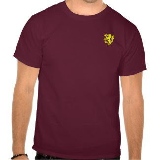 William Marshal Gold Lion Shirt shirt