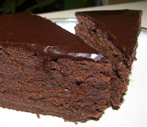 Dark Chocolate Fudge Cake Recipe   Genius Kitchen