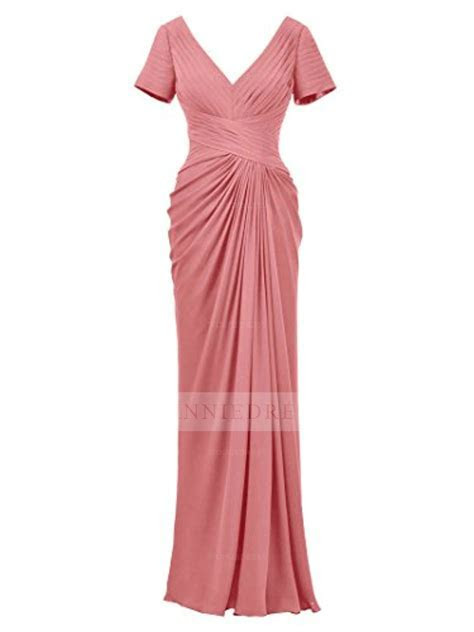 Shop discount Black V Neck Short Sleeve Evening Dress Plus
