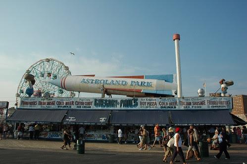 Gregory & Paul's, Boardwalk, Astroland Park