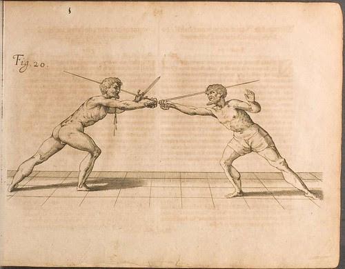 Fecht-kunst - Nicoletto Giganti, 1622 c