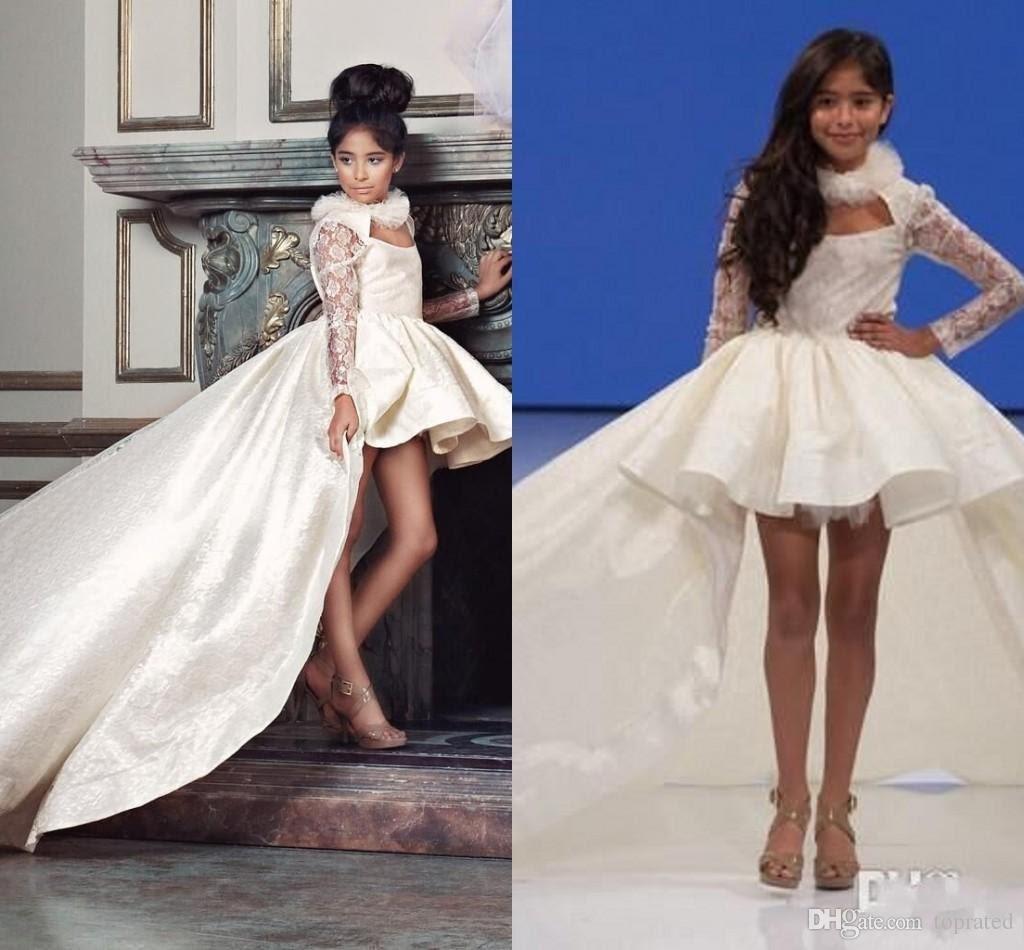 hi low girls pageant dresses for teens 2016 halter satin