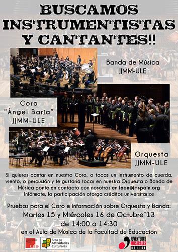 BUSCAMOS INSTRUMENTISTAS Y CANTANTES!! by juanluisgx