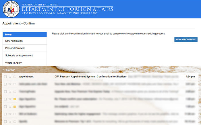 How To Set An Appointment For Passport Application Online