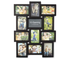 Black 12 Opening Collage Frame 4 X 6 Big Lots