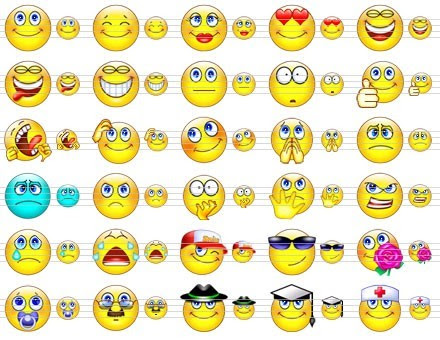 Cute Smile Icons is