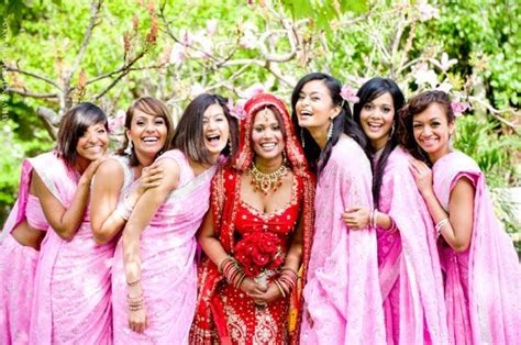 Bridesmaids at Indian Weddings ? India's Wedding Blog