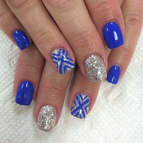 15 Blue Winter Nail Art Designs, Ideas, Trends & Stickers ...