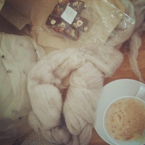 Chocolate + Chai + Craft = Perfect Day