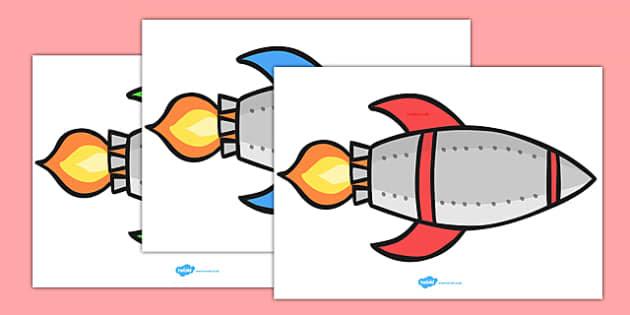 Editable Display Rockets - Rocket, display, poster, editable