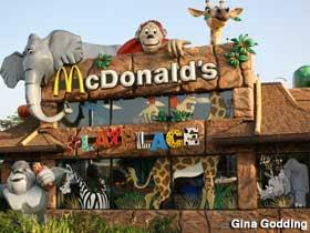 Zoo-themed McDonald's.