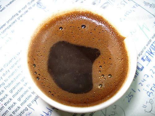 coffee face