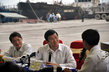 ngư dân, chủ quyền, Hoàng Sa, chủ tịch nước