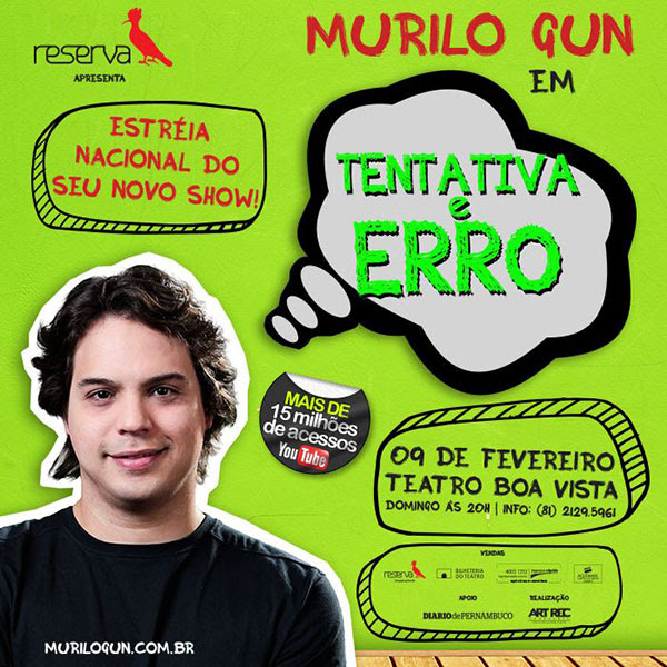 Murilo Gun em Recife!