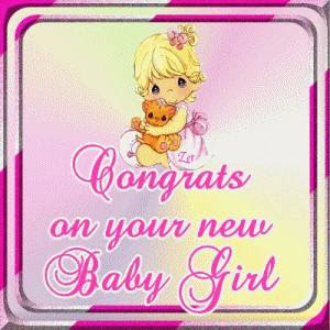 Congrats On Your New Baby Girl Quotespicturescom