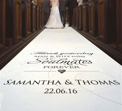 Personalized Wedding Aisle Runner Cheap   Wedding and