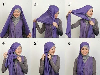 hijab tutorial 2015