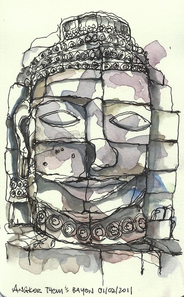 Bayon @ Angkor Thom, Siem Reap
